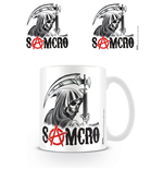 Sons of Anarchy Taza Samcro Reaper