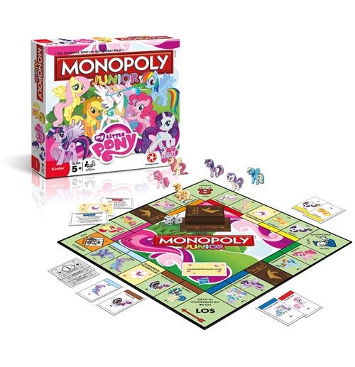 Compra My Little Pony Juego De Mesa Monopoly Junior Edicion Aleman