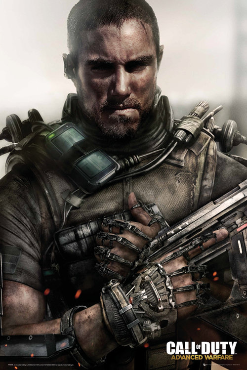 Póster Call Of Duty Advanced Warfare Soldier