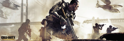 Póster Call Of Duty Advanced Warfare Cover