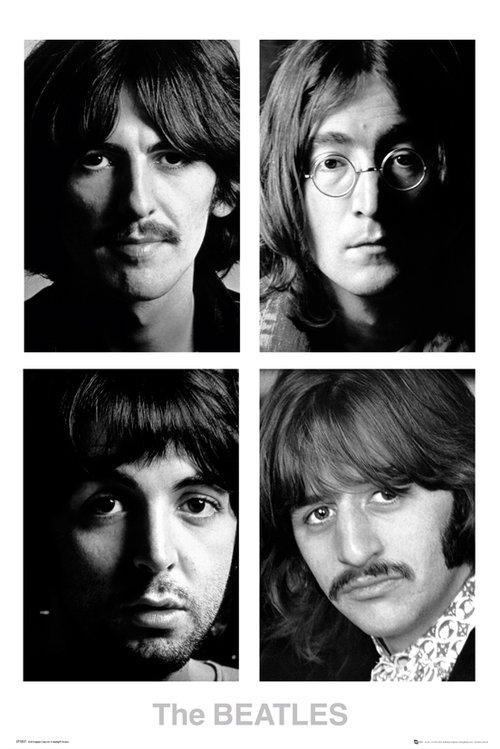 Póster Beatles White Album