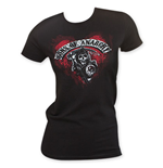 Camiseta Sons of Anarchy de mujer