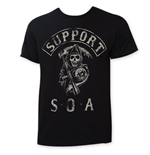 Camiseta Sons of Anarchy Support SOA
