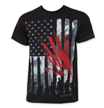 Camiseta The Walking Dead Bloody Hand Print