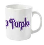 Taza deep Purple Logo