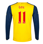 Camiseta Arsenal 2014-15 Away (Ozil 11) de niño