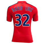 Camiseta Paris Saint Germain 2014-15 3rd (David Luiz 32) - de niño