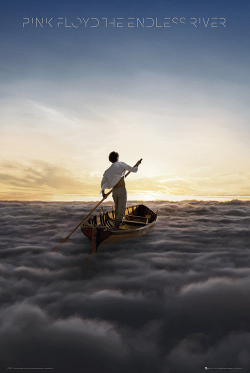 Póster Pink Floyd The Endless River