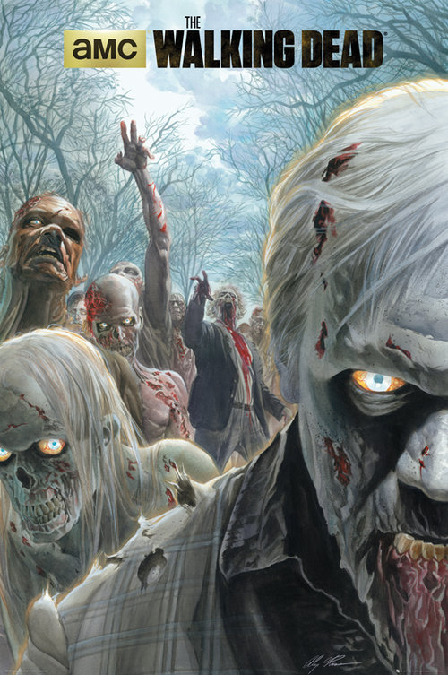 Póster The Walking Dead Zombie Hoard