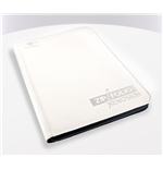 Ultimate Guard 9-Pocket ZipFolio XenoSkin Carpeta para Cartas Blanco