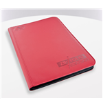 Ultimate Guard 9-Pocket ZipFolio XenoSkin Carpeta para Cartas Rojo