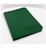Ultimate Guard 9-Pocket ZipFolio XenoSkin Carpeta para Cartas Verde