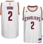 Camiseta Cleveland Cavaliers Kyrie Irving adidas White New Swingman Home
