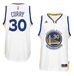 Camiseta Golden State Warriors Stephen Curry adidas New Swingman Home Blanco