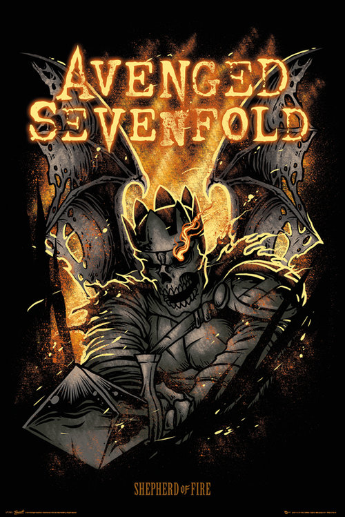 Póster Avenged Sevenfold 127405