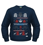 Sudadera Star Wars Dark Side Fair Isle