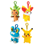Pokemon Llaveros Peluche 8 cm Wave 1 Expositor (8)