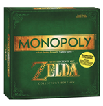 The Legend of Zelda Juego de Mesa Monopoly Exclusive Edition  *Edición Inglés*