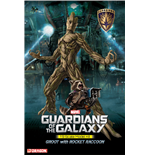 Guardianes de la Galaxia Maqueta 1/9 Groot & Rocket Raccoon 20 cm