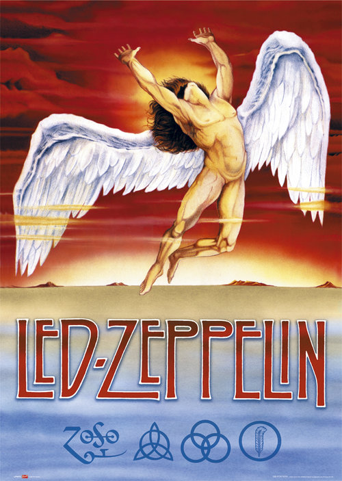 Póster Led Zeppelin 128601