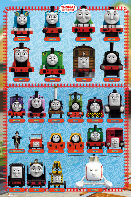 Póster Thomas and Friends 128645