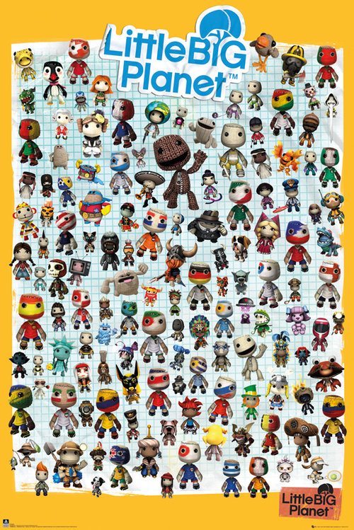 Póster Little Big Planet 128968