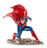 DC Comics Minifigura Superman arrodillado 10 cm