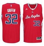 Camiseta  Los Angeles Clippers Blake Griffin adidas New Swingman Road Rojo
