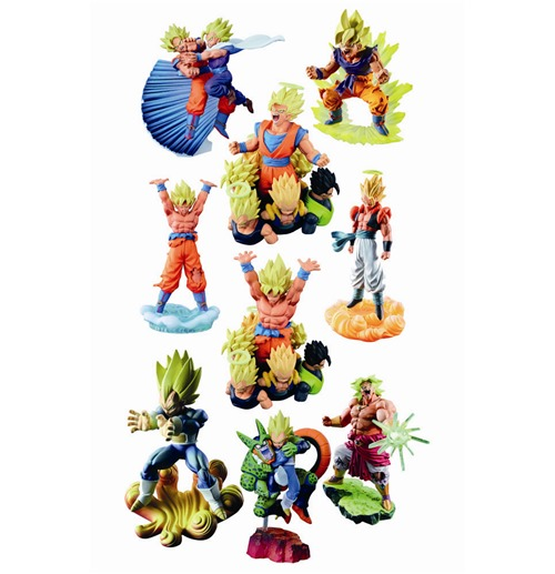 Dragonball Z Capsule R Figuras 10 cm The Legendary Warrior Super Saiyan Surtido (7)