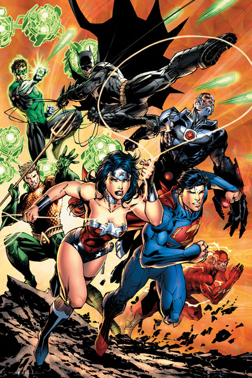 Póster Justice League 129535