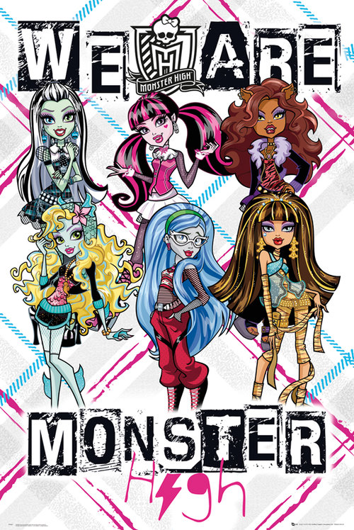 Póster Monster High 129557