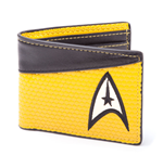 Star Trek Monedero Bifold Command Logo Yellow