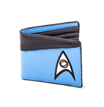 Star Trek Monedero Bifold Science Logo Blue