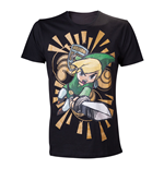 Camiseta NTENDO Legend of Zelda Wind Waker Link Attacks - S