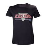 Camiseta NINTENDO Legend of Zelda Classic Retro Pixelated Logo - L