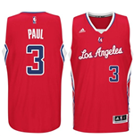 Camiseta Los Angeles Clippers Chris Paul adidas New Swingman Road Rojo