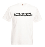 Camiseta con impresión transfer - Smash Brains