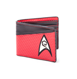 Star Trek Monedero Bifold Engineering Logo Red