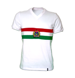 Camiseta retro Hungaría Away