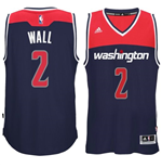 Camiseta Washington Wizards John Wall adidas New Swingman Alternate Azul