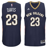 Camiseta New Orleans Pelicans Anthony Davis adidas New Swingman Road Azul