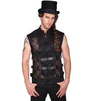 Chaleco Aderlass Shelter Steampunk Brocade