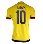 Camiseta Colombia Home 2015/16 (James 10)