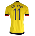 Camiseta Colombia Home 2015/16 (Cuadrado 11)