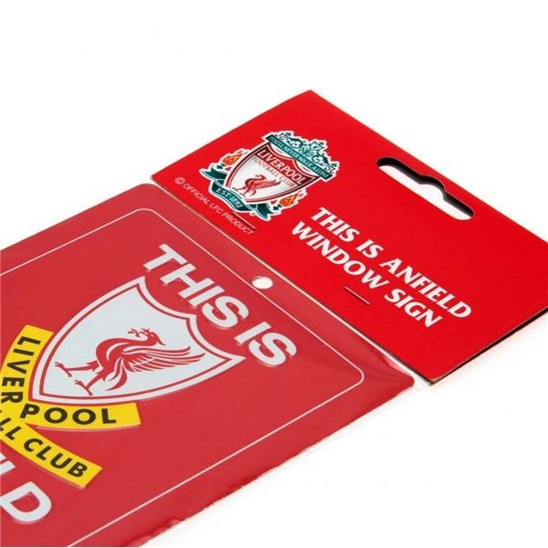 Placa Liverpool FC This Is Anfield