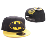 Batman Gorra Béisbol Black Bat Logo Black