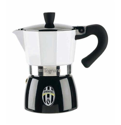 Cafetera moka juventus por tan s lo 21 90 en merchandisingplaza - Cafetera moka ...