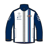 Forro Polar Soft Shell Williams Martini Racing 2015