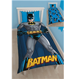 Batman Funda Nórdica Reversible DC Shadow 135 x 200 cm / 48 x 74 cm