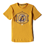 Camiseta Los Angeles Lakers (Amarillo)